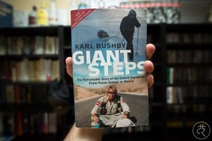 "Karl Bushby's ""Giant Steps"""