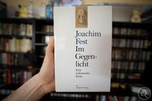 """Joachim Fest's """"Contre-jour"""""""