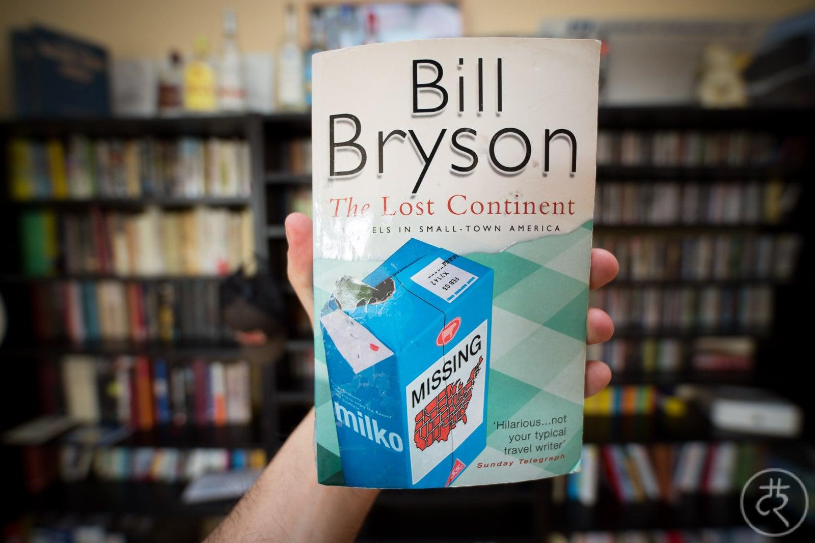 """Bill Bryson's """"The Lost Continent"""""""